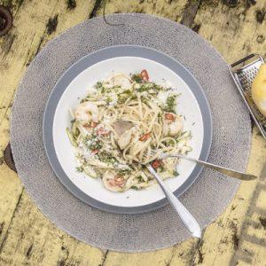 pasta-en-knoflookgarnalen