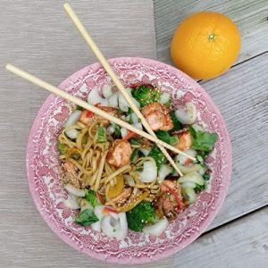 Noodles zalm samoerai
