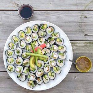 sushi grote schaal